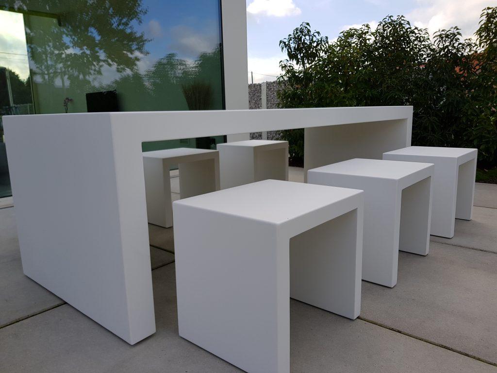 Aluminium tafels zakelijk bestellen