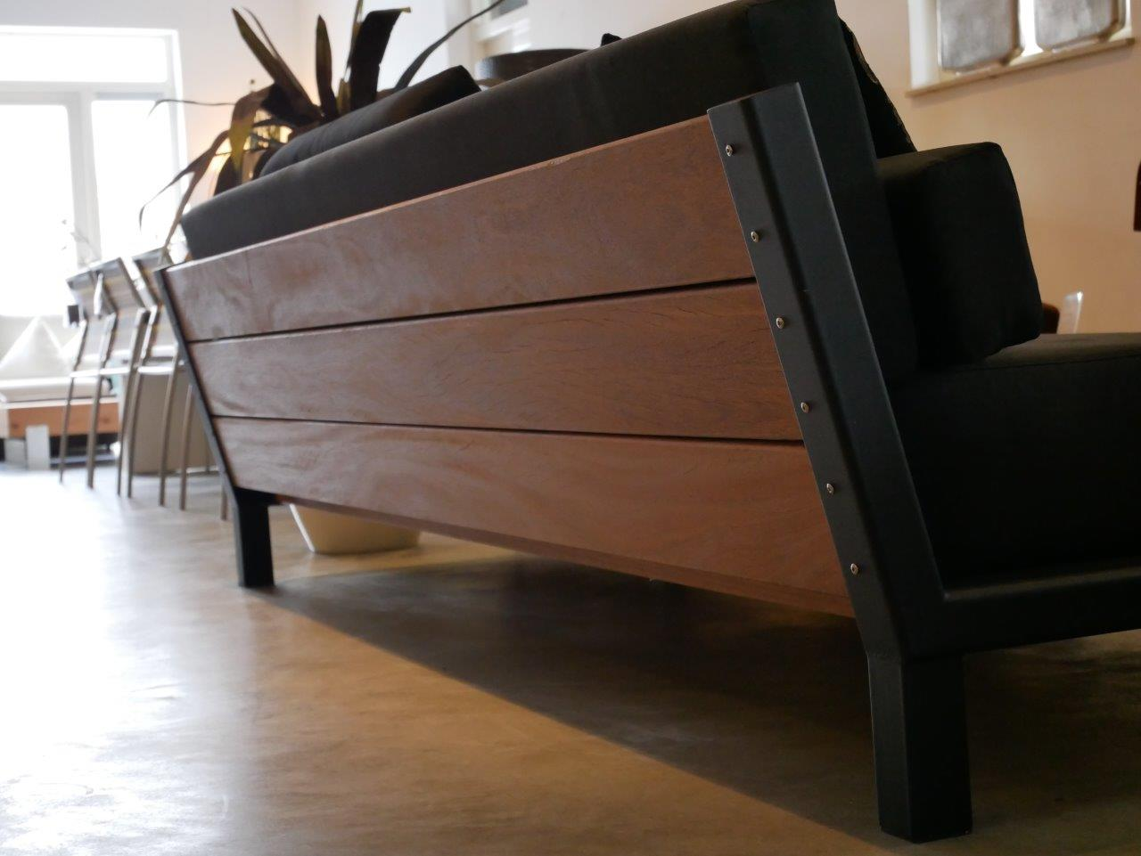 Maatwerk lounge - Day loungebank - Hardhout