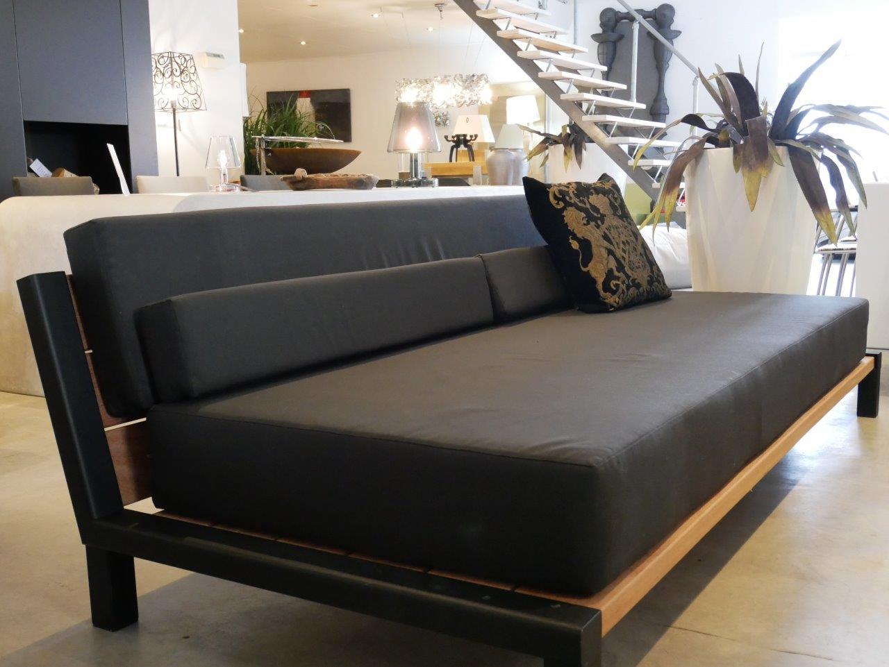 Maatwerk lounge - Day Lounge - Hardhout