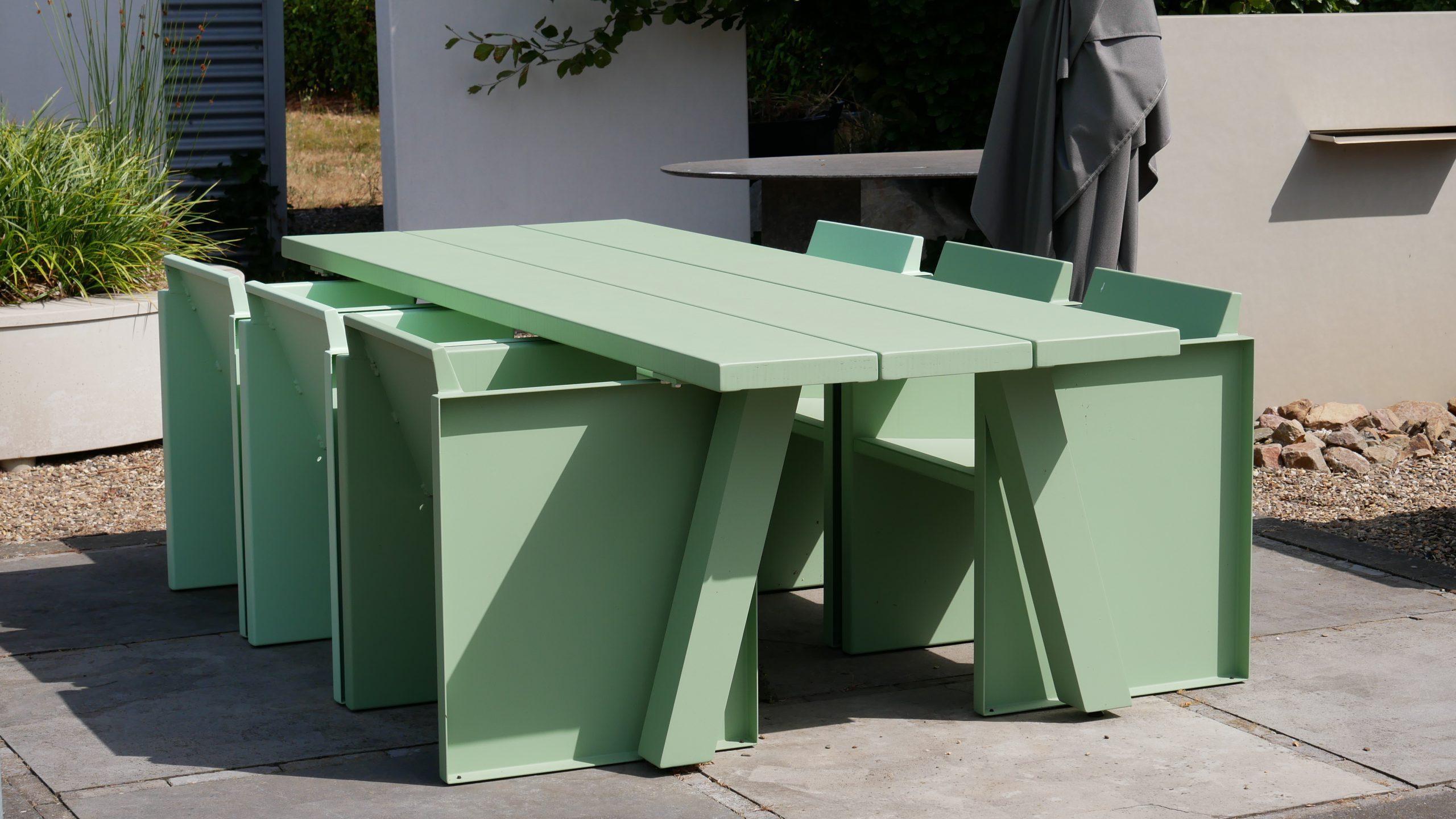 Aluminium dining sets - Garden