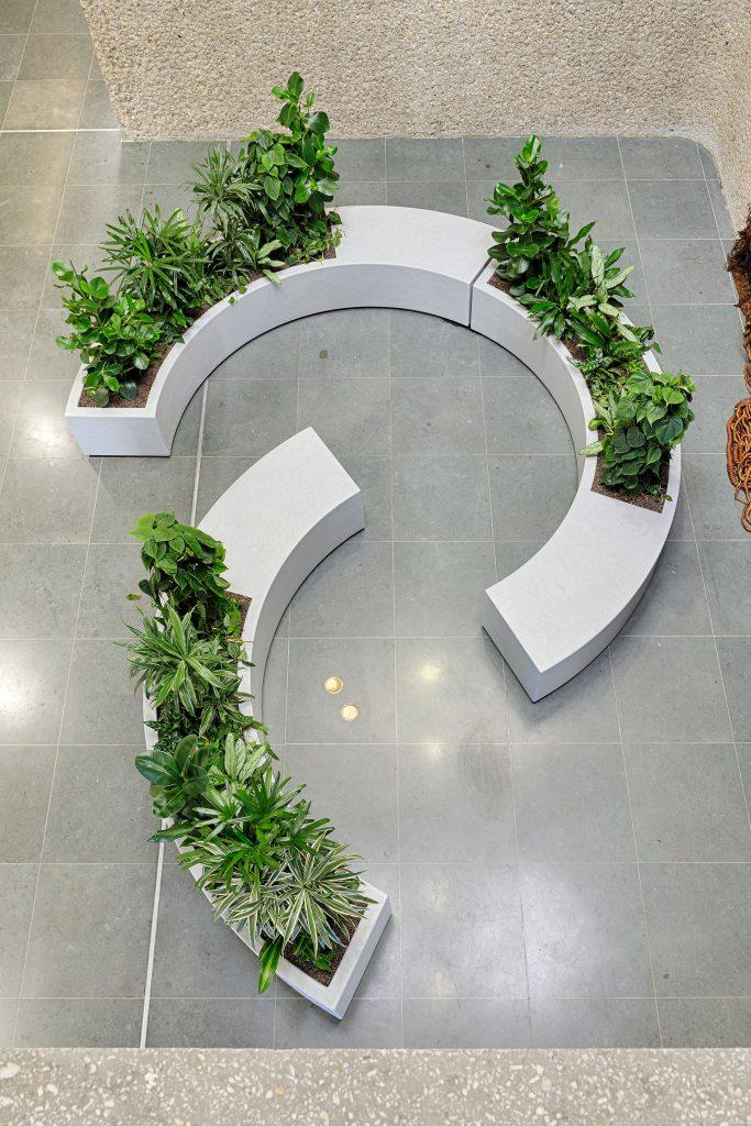 Maatwerk zit plantenbakken