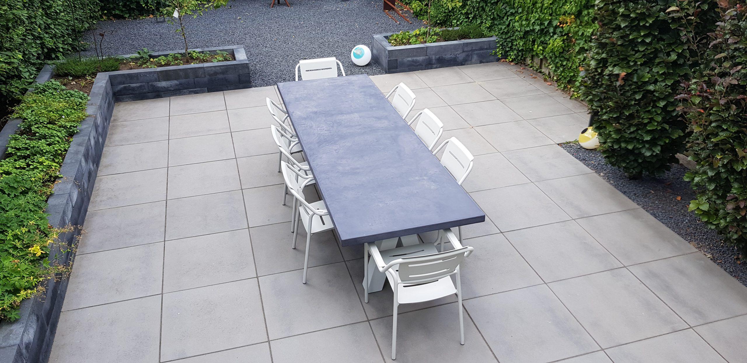 Betonlook tafel - Base 1 - A-poot (1)