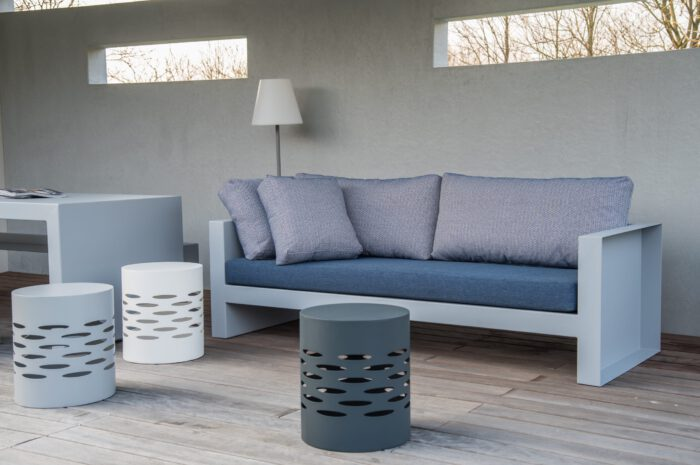 Aluminium lounge
