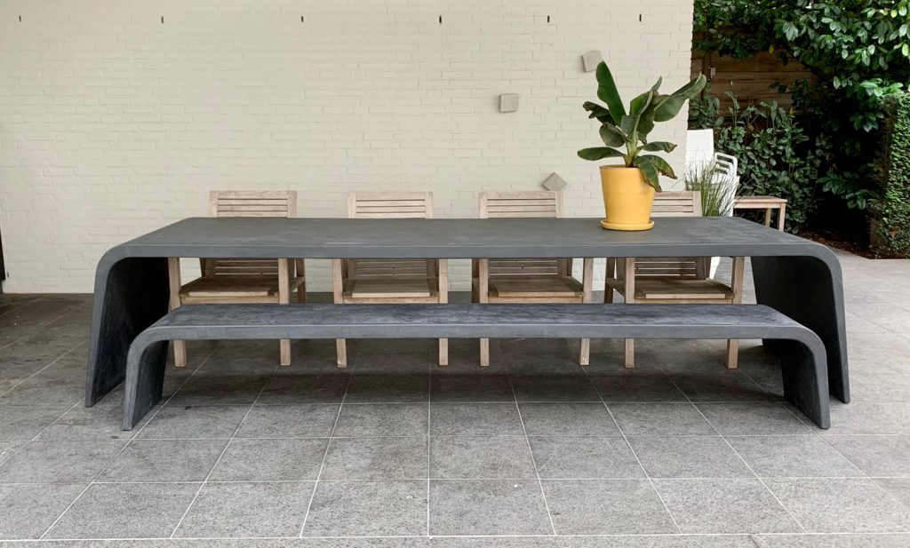 Betonlook dining sets